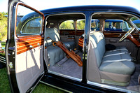 Interior of 1941 Cadillac 75-19 Limousine