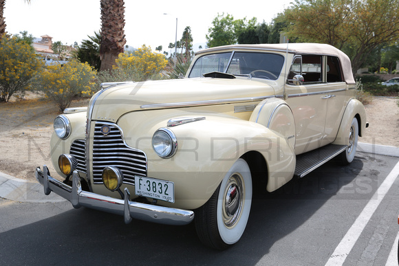 1940 Buick Limited Model 81C Fastback Convertible Phaeton