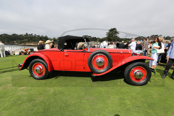 1929 Ruxton A Baker-Raulang Roadster, chassis 1003
