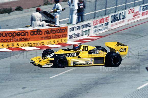 Jody Scheckter Long Beach Gp