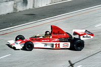 James Hunt, #11 McLaren-Ford M23